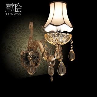 欧式水晶布艺灯具