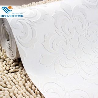 欧式天花板3d立体浮雕墙纸5.3m/卷