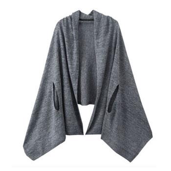 天猫MUJI无印良品 F6SD800 女士针织披肩