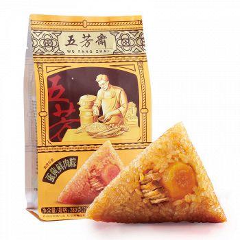 京东商城五芳斋 蛋黄鲜肉粽  280g