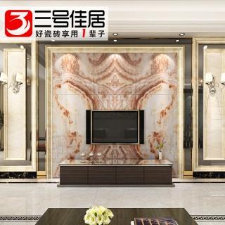 微晶石高温烧制壁画墙砖600*600mm