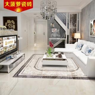 微晶石地砖地面瓷砖拼花客厅地砖800x800