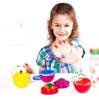 儿童手指画颜料 水果套装