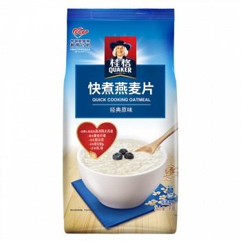 京东商城QUAKER桂格 膳食纤维 快煮燕麦片 1000g