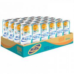 京东商城水动乐 摩登罐 橙味营养素饮料 310ml*24罐/箱