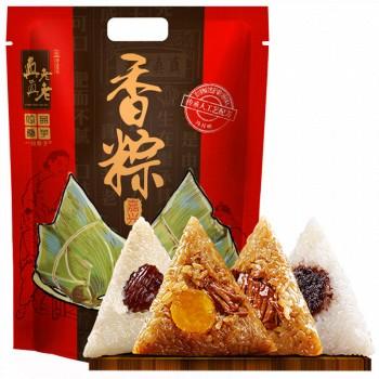 京东商城预告:一品巷子 端午香粽粽子 大礼包 600g/袋