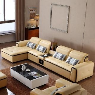 真皮沙发小户型沙发客厅组合沙发az004