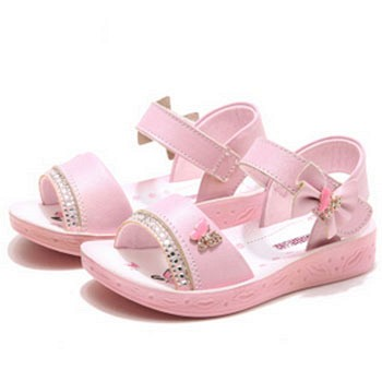 京东商城哈比熊 儿童凉鞋夏季女童公主凉鞋