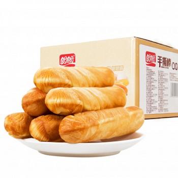 天猫盼盼 手撕棒软面包 700g *2箱