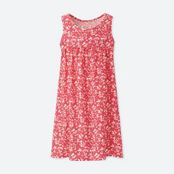 无袖印花清爽自然,夏季来临,你家的小可爱们是否需要一件这样的裙子呢