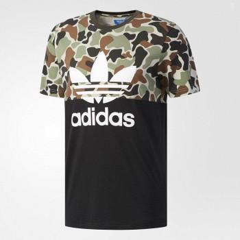 天猫adidas阿迪达斯 S/S CAMO COLOR 男子短袖上衣
