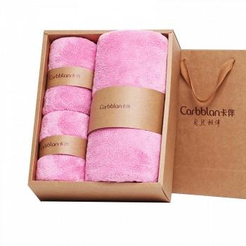 苏宁易购Curbblan卡伴 婴儿毛巾礼盒3件套