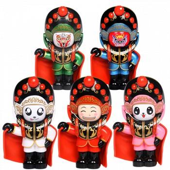 已过期天猫 唐礼 变脸娃娃川剧玩偶脸谱纪念品13.8元包邮