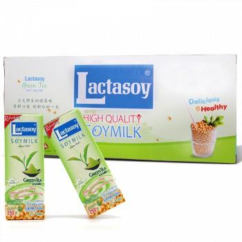 京东商城泰国进口 力大狮  调制豆奶 绿茶味 250ml*12盒