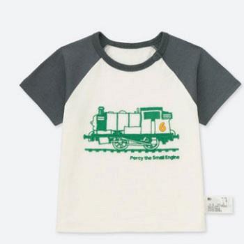天猫UNIQLO优衣库 幼儿印花T恤(短袖)