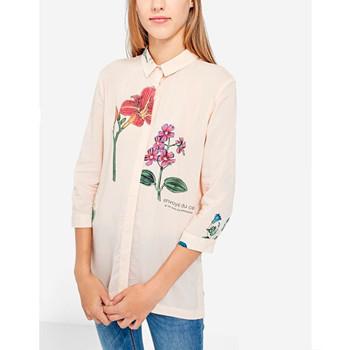 天猫Stradivarius 女装七分袖印花衬衫