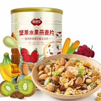 天猫福事多 坚果水果燕麦片1Kg