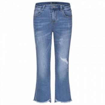 当当网商城森马 夏季新款显瘦喇叭牛仔裤