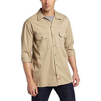 Dickies 男士长袖工作衬衫