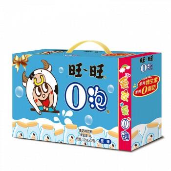 京东商城旺旺 旺仔儿童牛奶饮料O泡果奶年货礼盒原味125ml*32