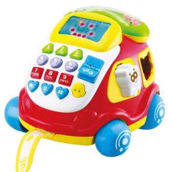 京东商城AUBY澳贝 益智玩具电子汽车电话