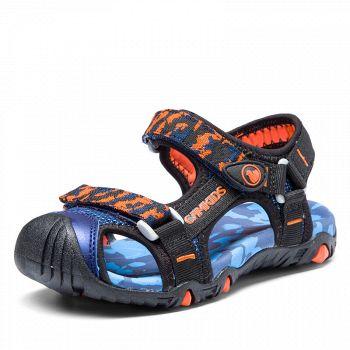 京东商城CAMKIDS小骆驼 儿童凉鞋+儿童运动套装