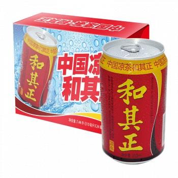 京东商城达利园 和其正凉茶 罐装 310ml*24罐 整箱