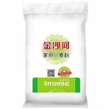 金沙河 家用小麦粉5kg+鸡蛋麦芯挂面150g