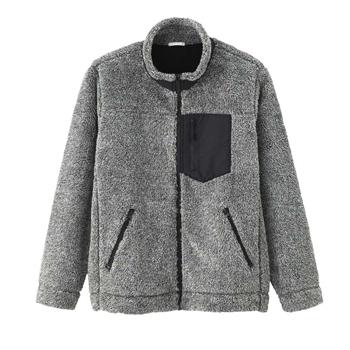 天猫双12狂欢:GU极优 长绒摇粒绒拉链外套