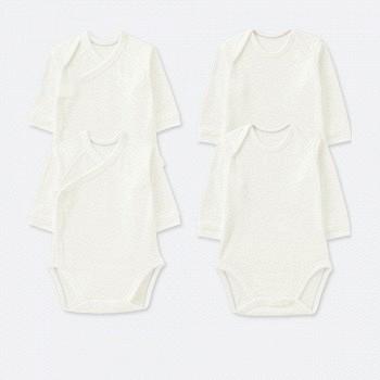 天猫25日0点:UNIQLO优衣库 新生儿圆领连体装2件装