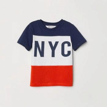天猫4日0点: H&M 男童短袖T恤