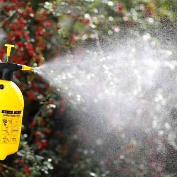 天猫市下 园艺浇花喷雾器自动气压式