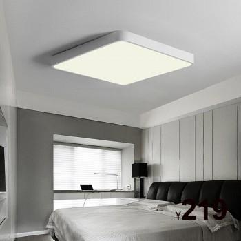 京东商城HD LED吸顶灯超薄莹方系列白色方形24W