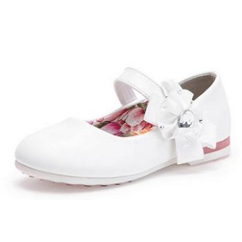 天猫泰迪珍藏 女童韩版休闲皮鞋
