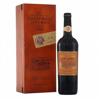 京东商城长城 天赋葡园珍藏级赤霞珠干红葡萄酒750ml+凑单品
