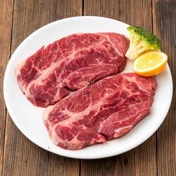 苏宁易购澳洲谷饲小公牛嫩肩牛排200g(2片) 牛排