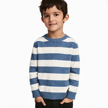 天猫H&M 春季新款精细针织套衫