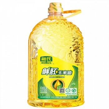 京东商城融氏 鲜胚玉米油(一级压榨)3.68L*2桶