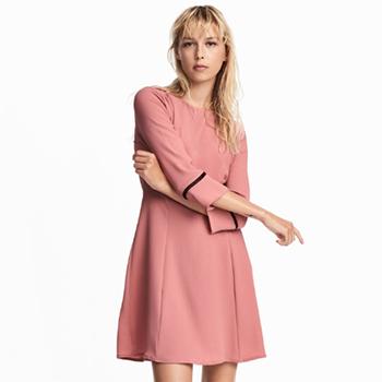 天猫520好礼:H&M 女式绉纱连衣裙