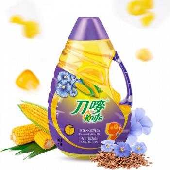 刀唛 玉米亚麻籽油2.2L香港品质