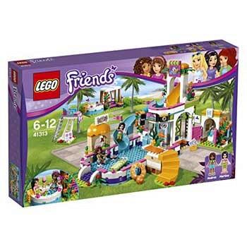 乐高(LEGO) 好朋友系列 41313 心湖城夏季游泳池