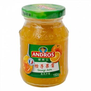 京东商城安德鲁爱果士 橙子果酱150g/瓶*5件