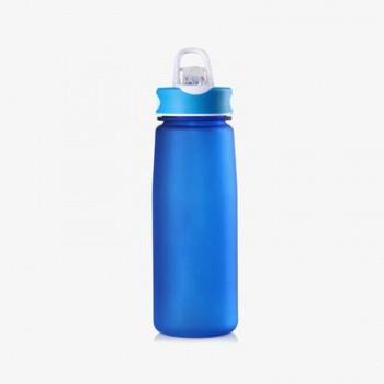 蓝色酒瓶水滴瓶素材