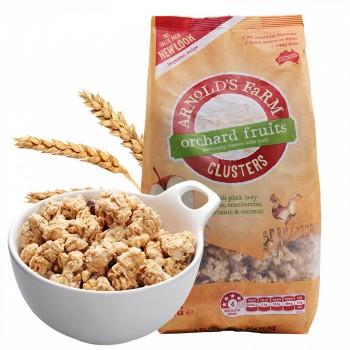 京东商城澳诺滋 农场水果谷物即食燕麦片1kg