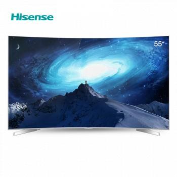 京东商城2日0点:Hisense海信 LED55EC780UC 55英寸 曲面 4K液晶电视