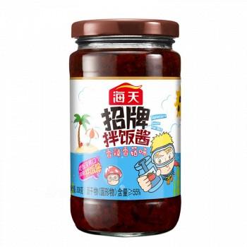 京东商城 凑单品:海天 招牌拌饭酱 香辣香菇味 308g