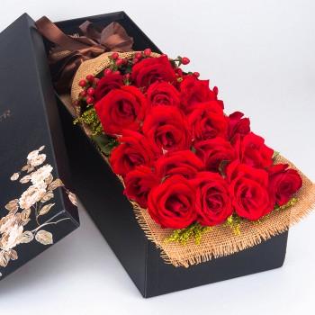 天猫情人节礼物:成都鲜花速递全城免费配送