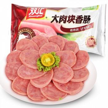 京东商城双汇 大肉块香肠30g*8支 *10件 +凑单品