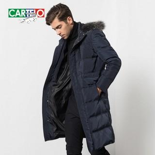 男装冬季商务外套羽绒服