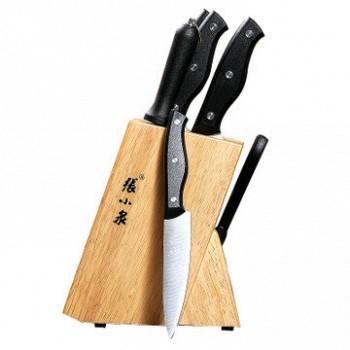 双11预售:张小泉 豪享菜刀刀具 7件套